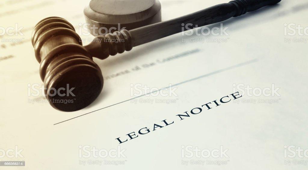 Legal Notice foto