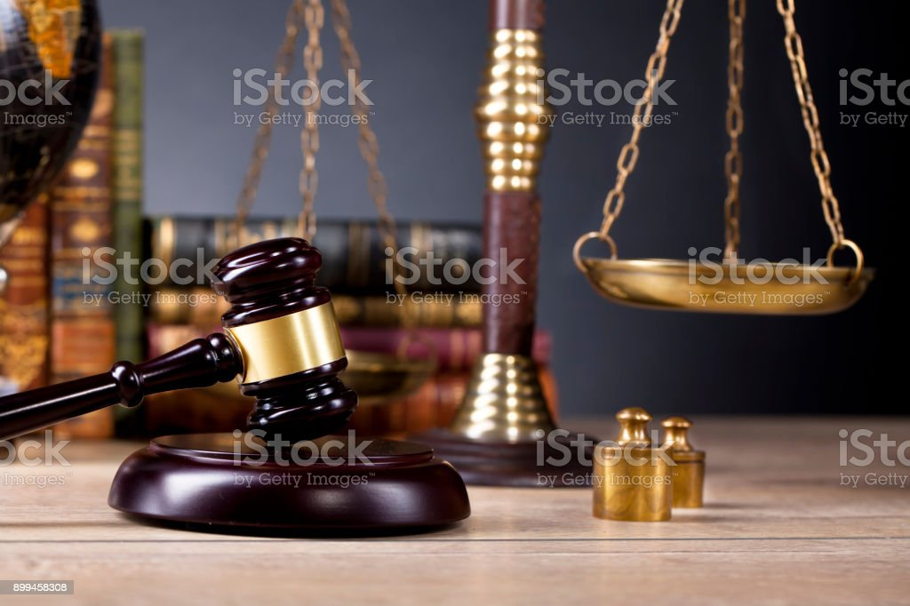 Legal office, legal advisory. stock photo