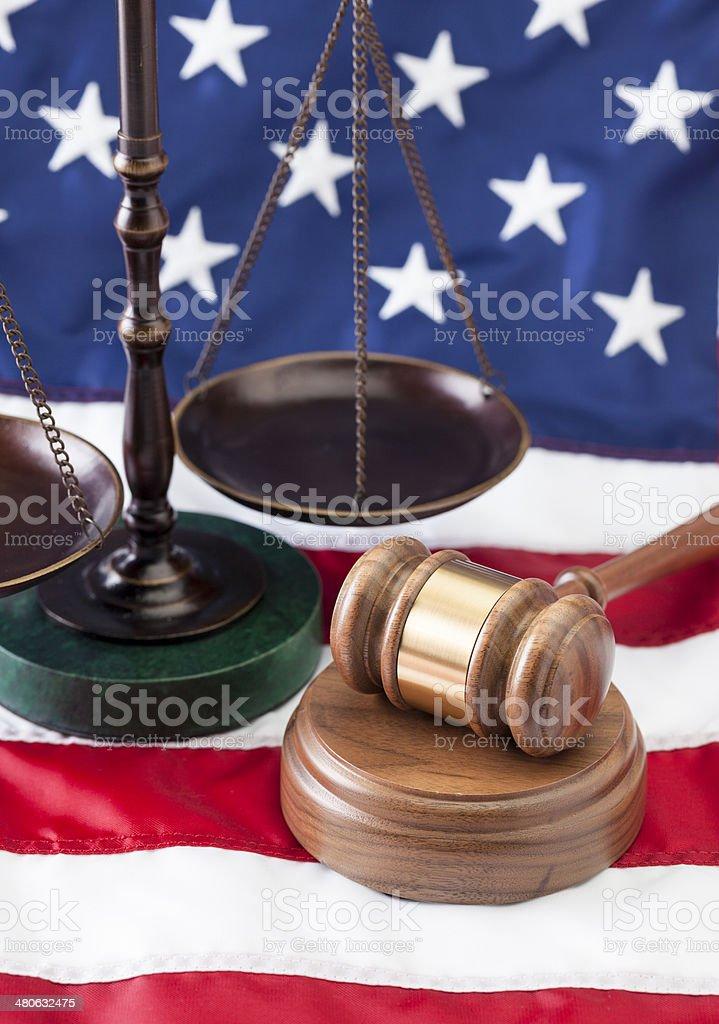 USA Legal royalty-free stock photo