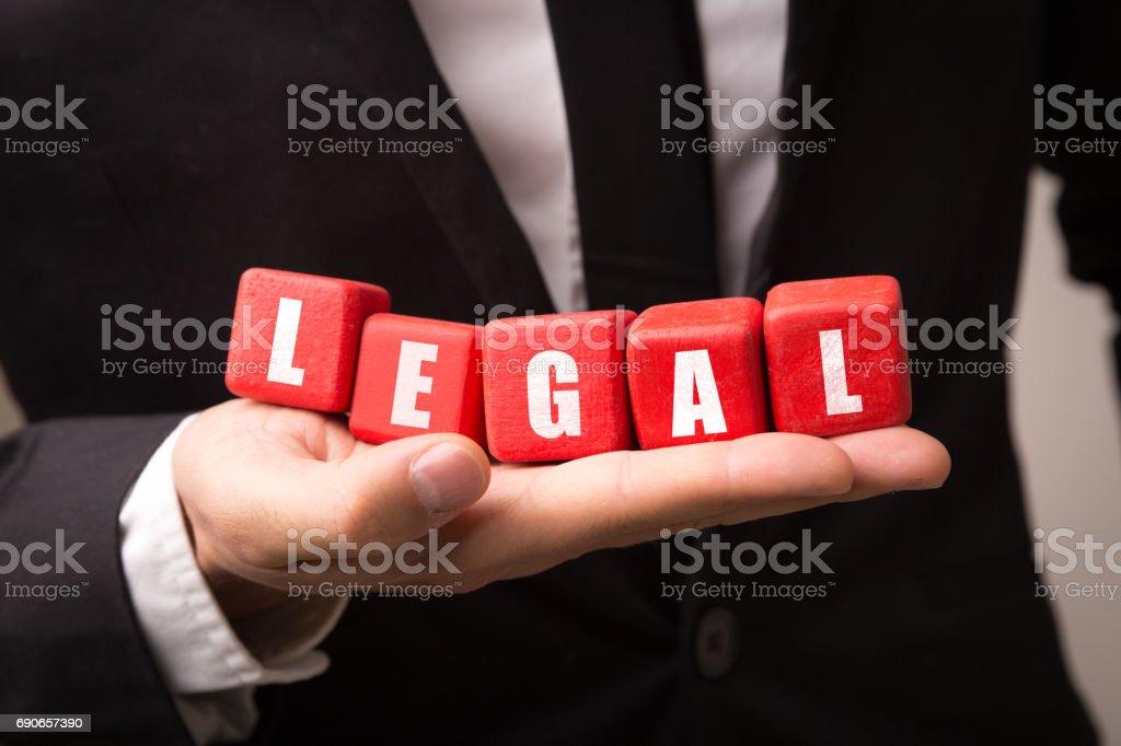 Legal stock photo