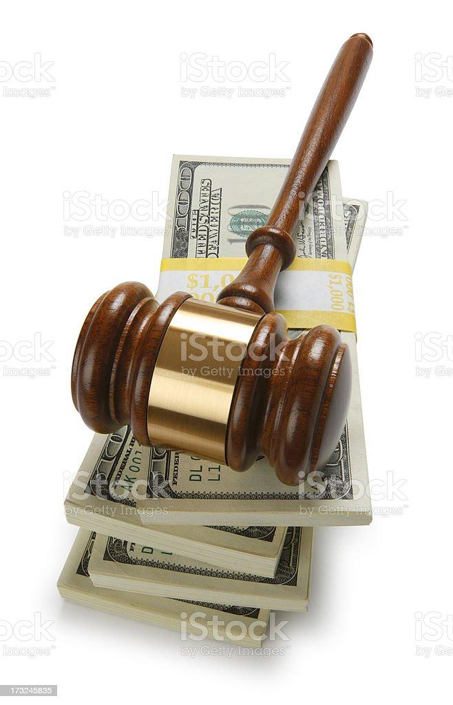 Legal Settlement royalty-free stock photo