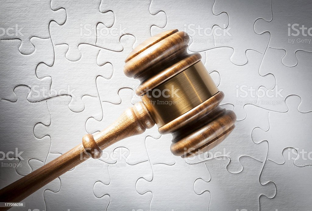 Legal Solutions royalty-free stock photo