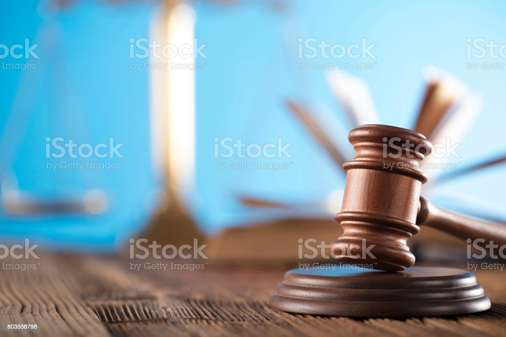 Legal system stock photo