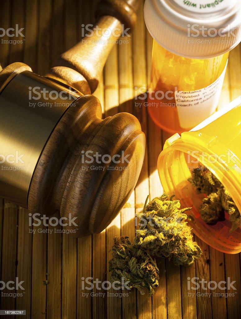 Legalized Marijuana stock photo