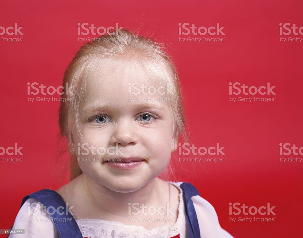 Legally blonde royalty-free stock photo