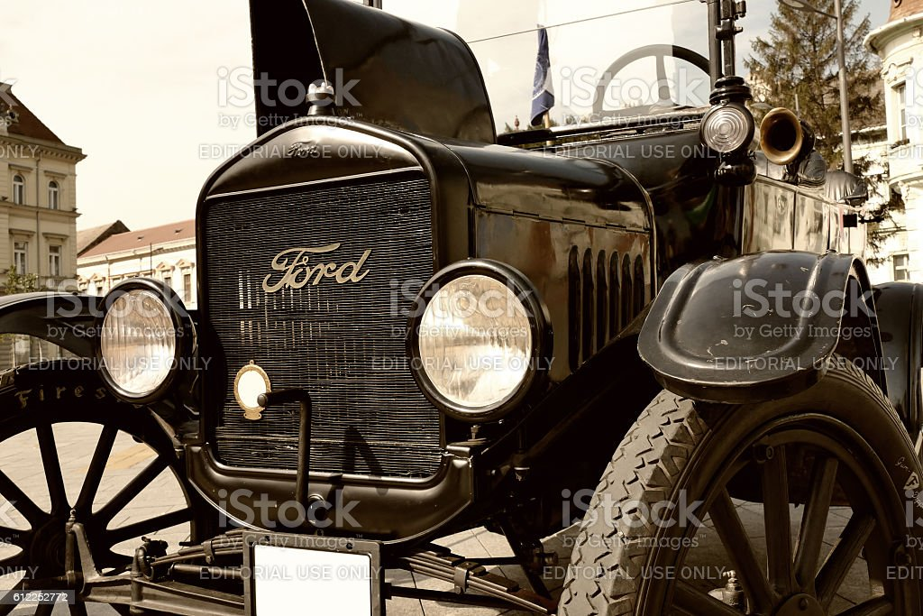 Legendary Ford Model T stock photo