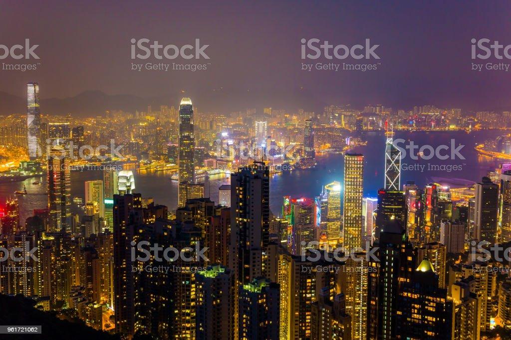 Legendary Hong Kong stock photo