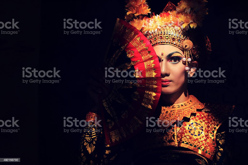 Leghong dance stock photo