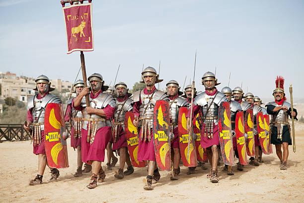Legion marching - Jerash, Jordan
