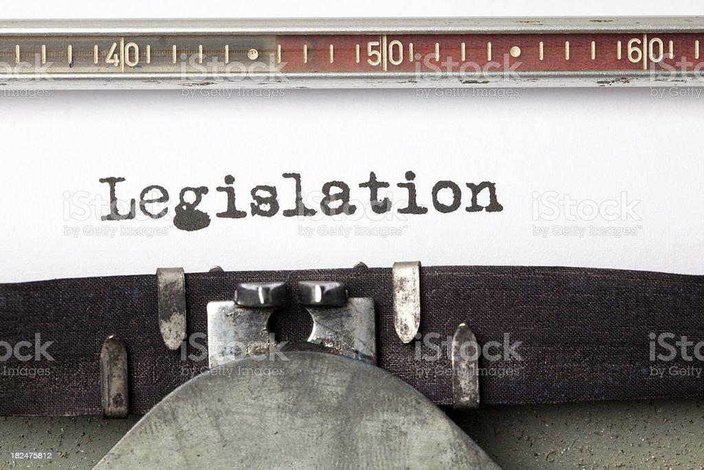 Legislation royalty-free stock photo