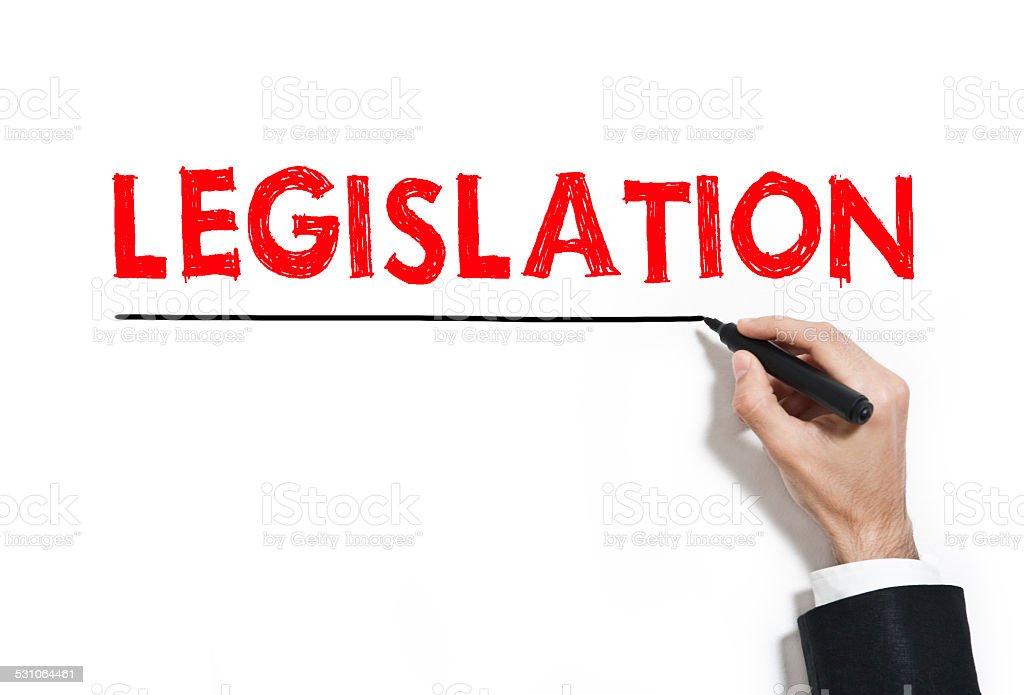 Legislation (Click for more) stock photo