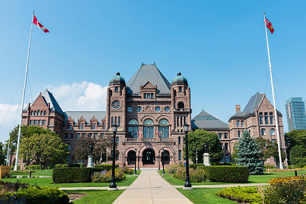 legislative assembly of ontario in toronto, canada - canada parliament stock photos and pictures