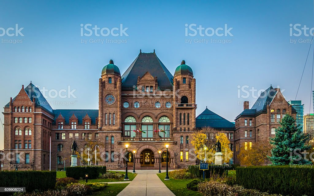 Legislative Assembly of Ontario - Toronto, Canada stock photo
