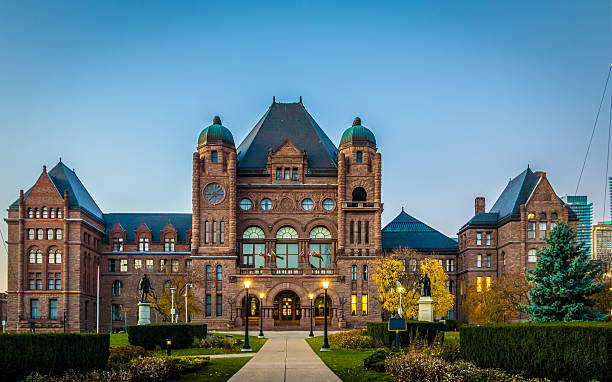 Legislative Assembly of Ontario - Toronto, Canada Legislative Assembly of Ontario situated in Queens Park - Toronto, Ontario, Canada federal building stock pictures, royalty-free photos & images