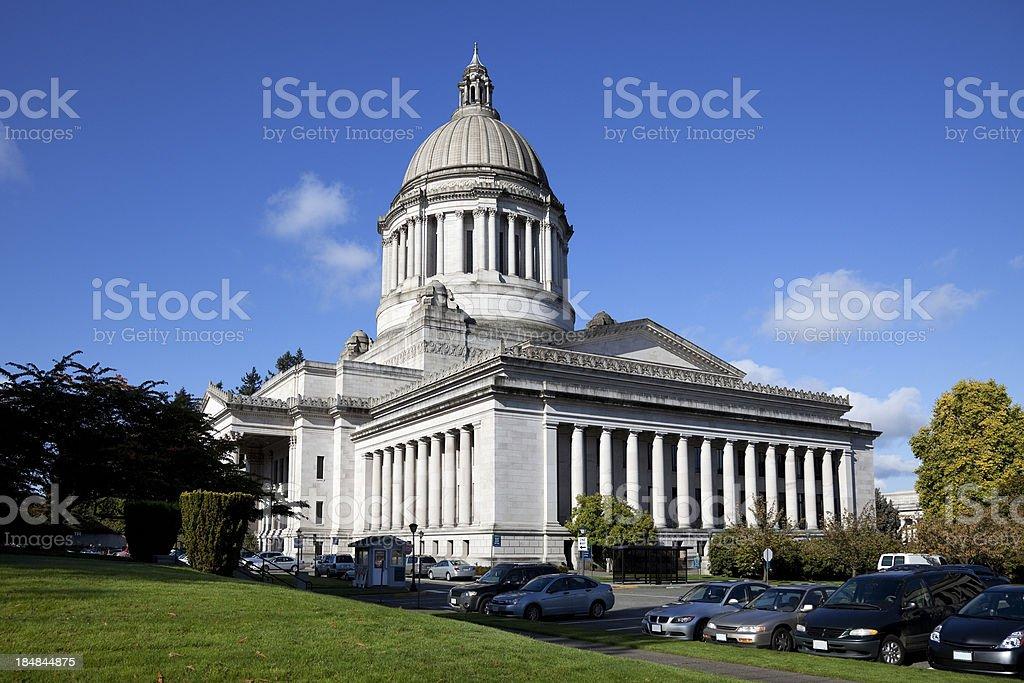 Legislative Building In Olympia Washington royalty-free stock photo