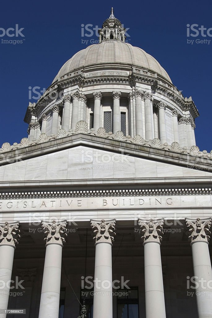 Legislative building royalty-free stock photo