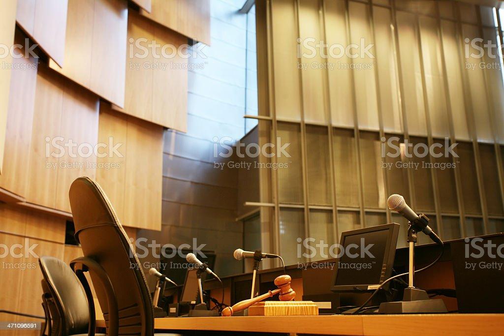 Legislative chamber stock photo
