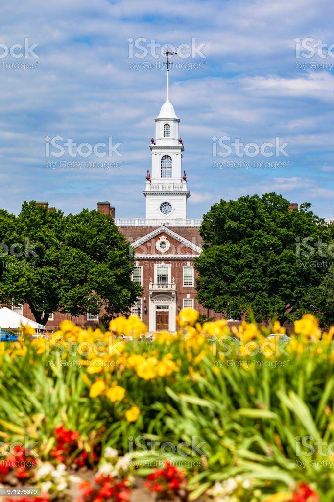 Legislative Hall In Dover, Delaware (The Capitol Building) stock photo