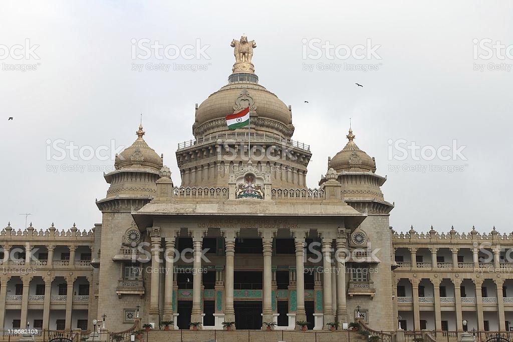 Legislature building in Bangalore, India stock photo