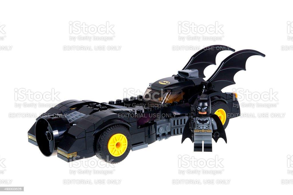 lego batmobile and batman minifigure stock photo istock. Black Bedroom Furniture Sets. Home Design Ideas