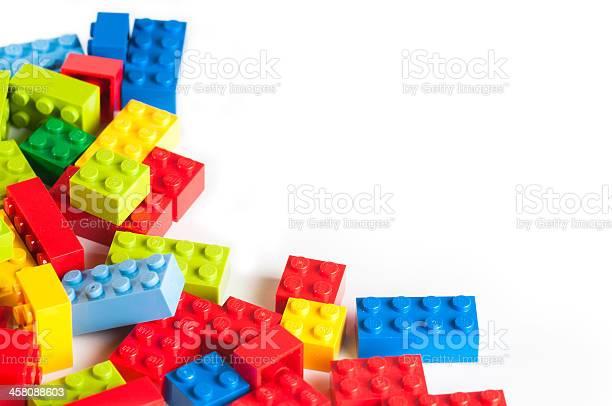 복사 공간이 Lego 블록 0명에 대한 스톡 사진 및 기타 이미지
