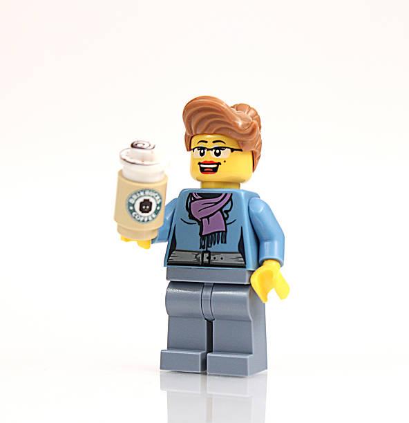 Lego Businesswoman stock photo
