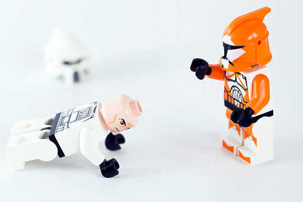 Lego Clone Wars Figure stock photo