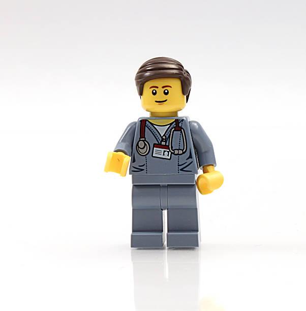 Lego Doctor stock photo