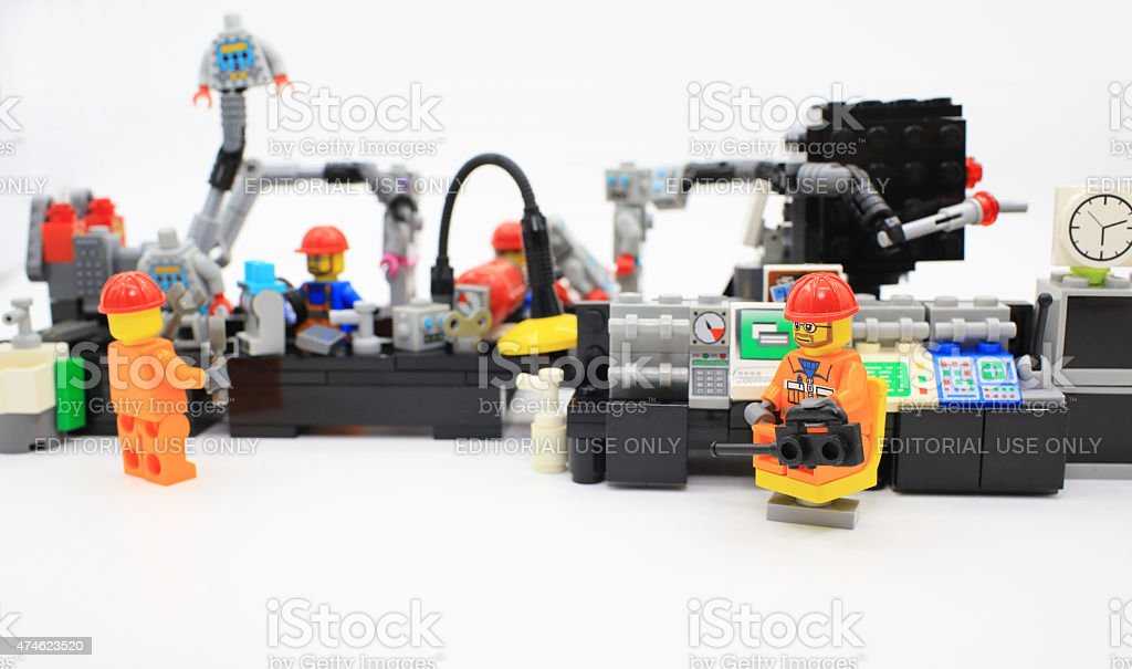 Lego Factory Production Line Stock Photo & More Pictures of 2015 ...