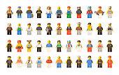 Lego figures men and women