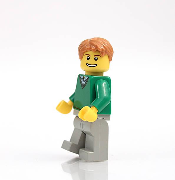 Lego Guy stock photo