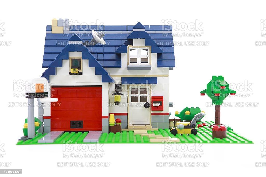 Lego house - Zbiór zdjęć royalty-free (Bez ludzi)