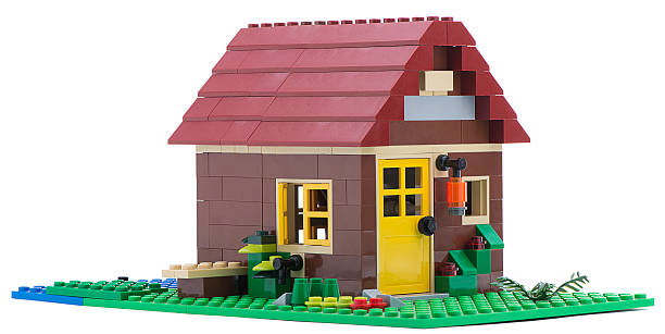 lego house - lego house stock photos and pictures