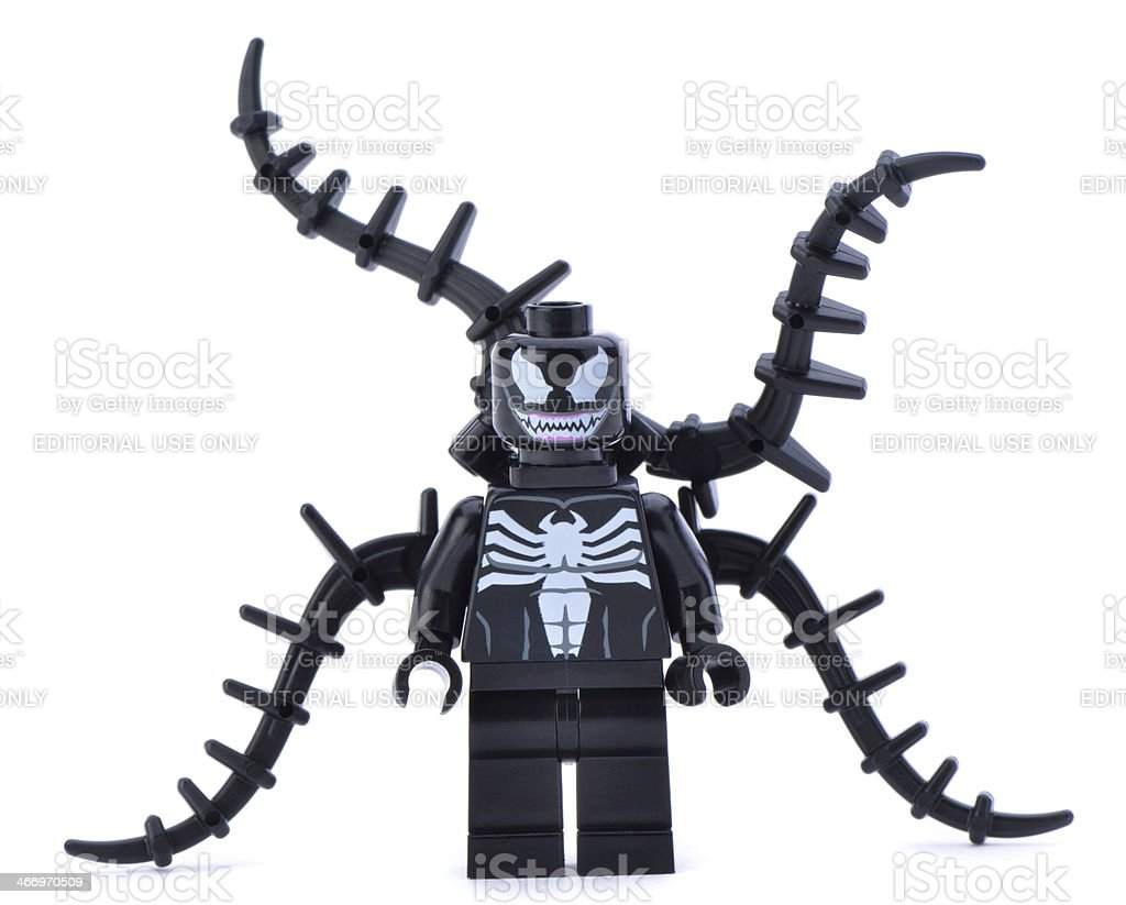 lego marvel super heroes minifigures spiderman venom stock
