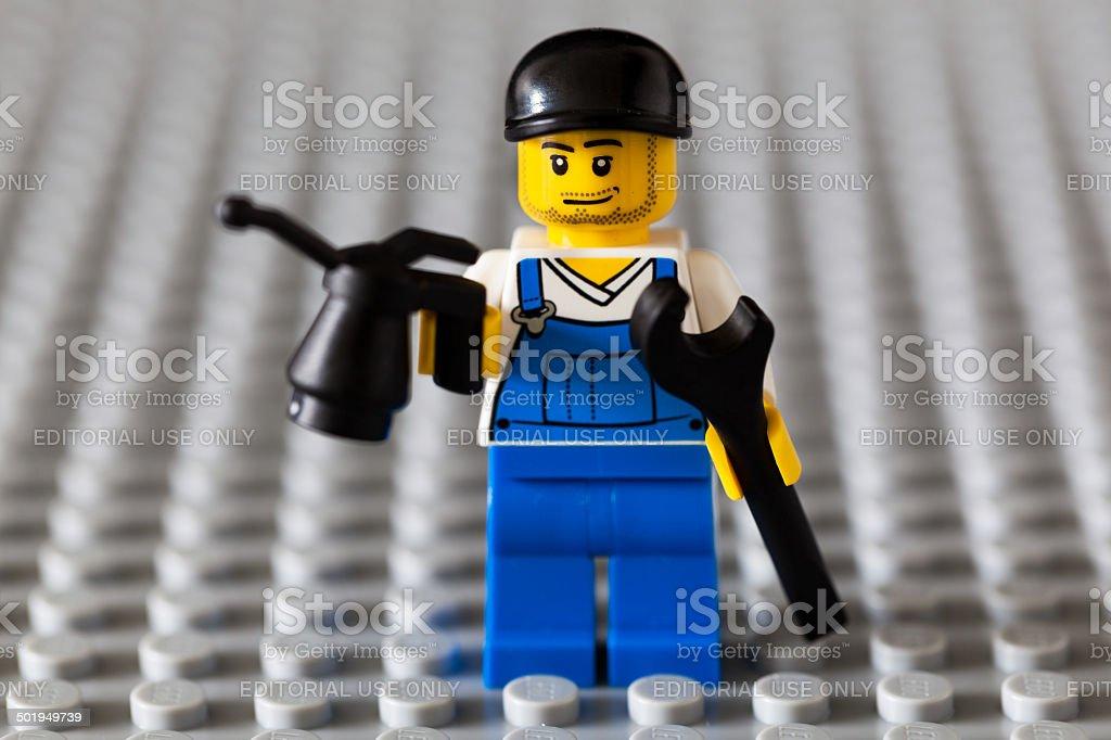 Banque Mécanicien Et Lhuile Droit De Libre Clé Photo Avec Lego ymIYbgvf67