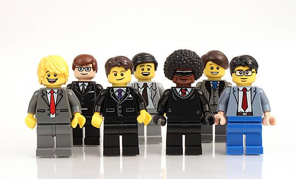 Lego Men stock photo