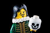 Lego Minifigures Series 8 figurine: The Thespian