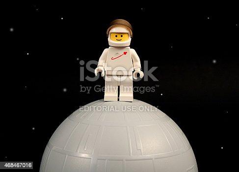 istock Lego Moon Landing 468467016