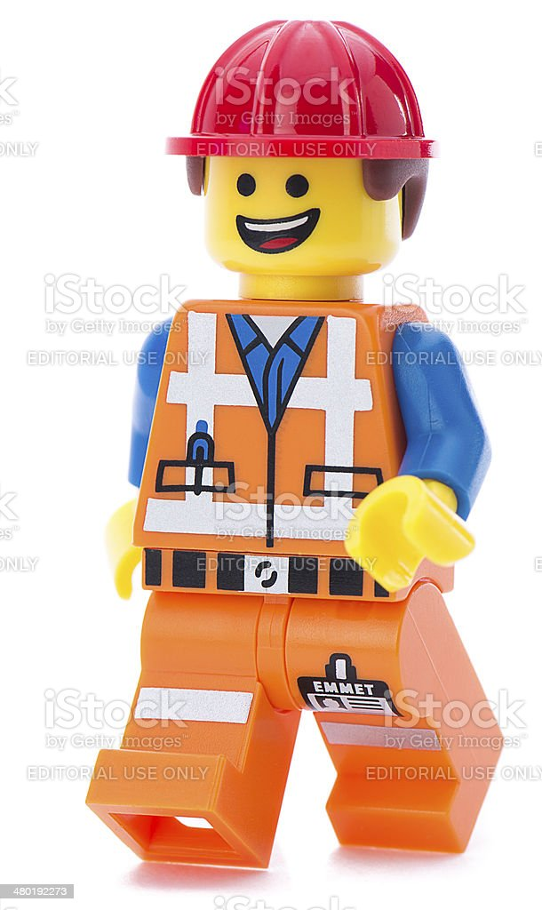 Lego Movie Minifigure Emmet Stock Photo Download Image Now Istock