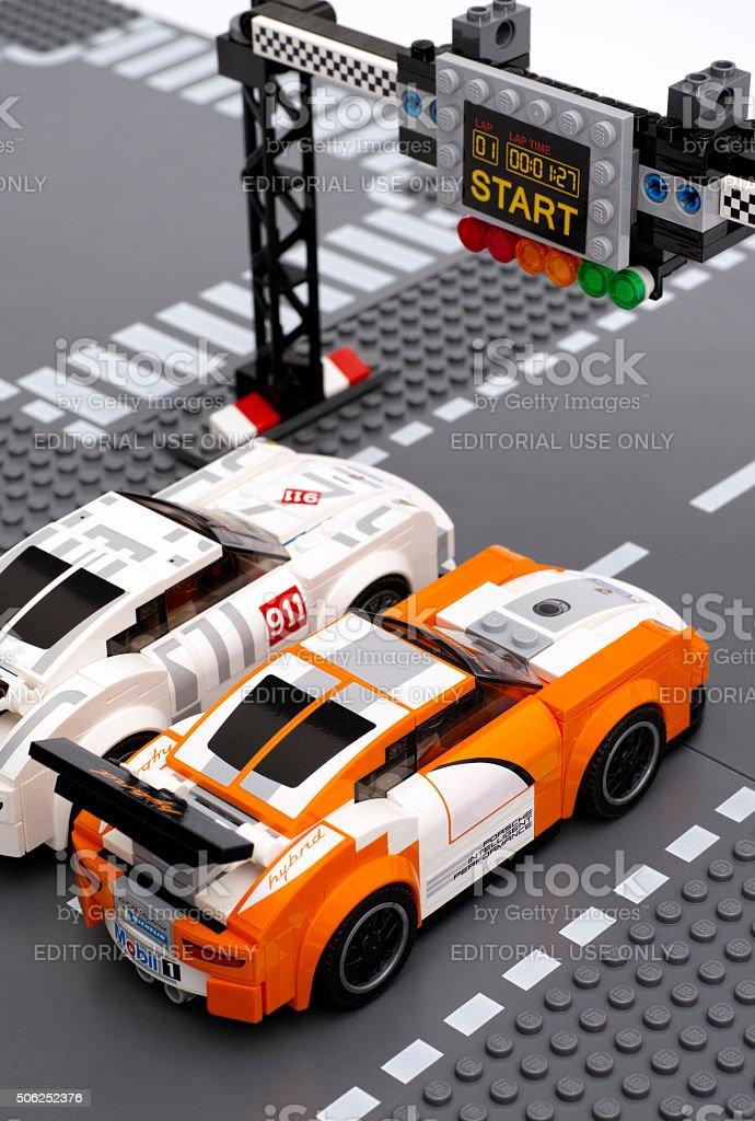 Lego Porsche 911 Gt Race Cars On Startfinish Line Stock Photo & More on porsche gt2 race car, lotus exige gt race car, bmw x5 race car, aston martin db4 gt race car, porsche 911 gt3 rally car, toyota supra gt race car, dodge dart gt race car, ferrari 456m gt race car, pontiac fiero gt race car, mercedes amg gt race car, porsche 911 sc race car, nissan juke race car, porsche 911 hybrid race car, ferrari f50 gt race car, porsche 918 spyder car, nissan 350z gt race car, porsche panamera race car, bugatti veyron gt race car, ferrari 250 gt race car, porsche gt3 race cars,