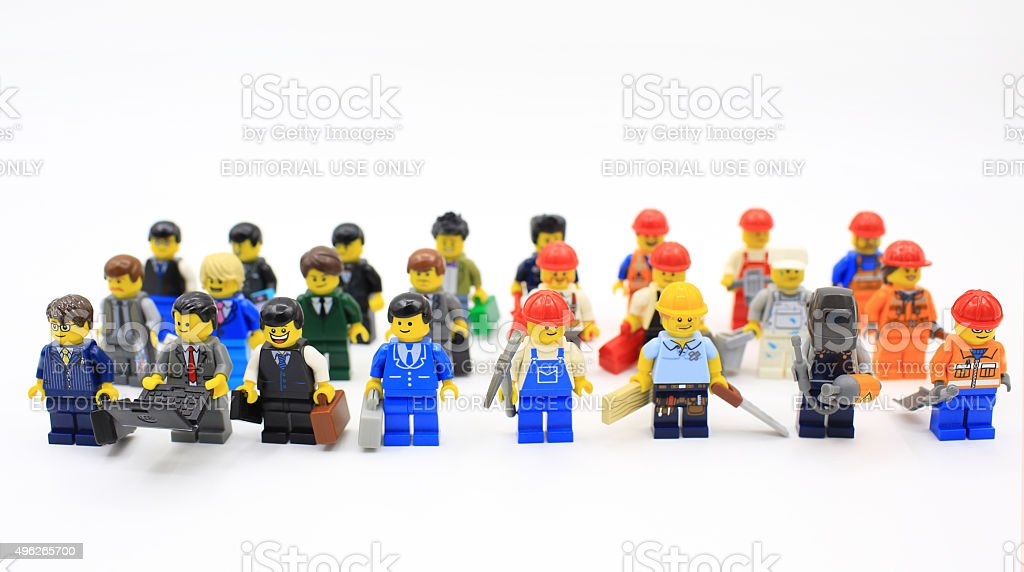 lego series stock photo