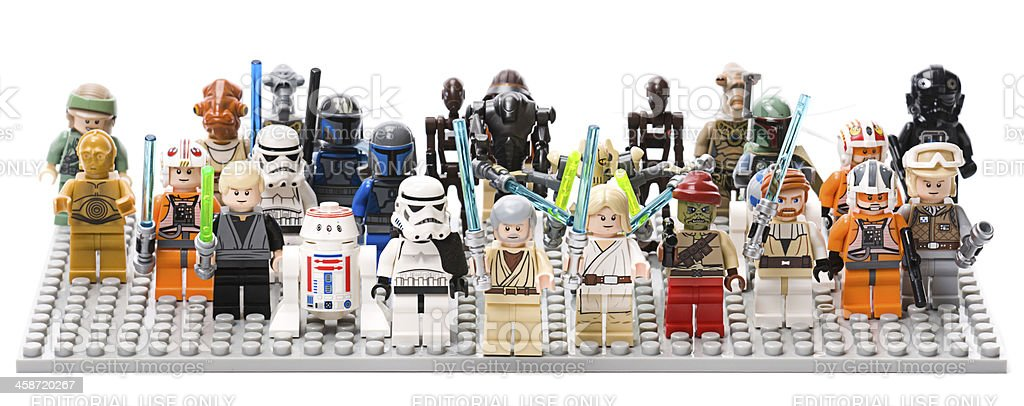 Lego Star Wars stock photo