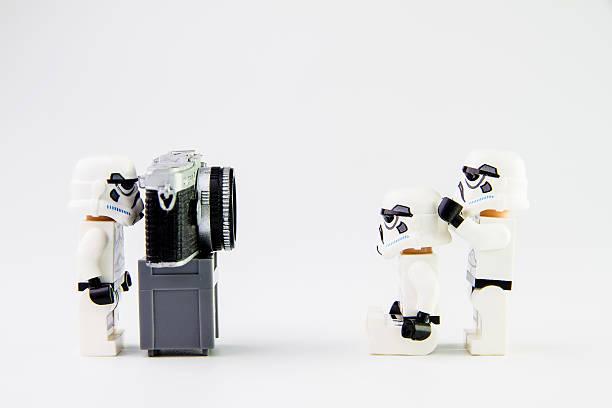 Lego-star Kriege Stormtrooper ein Foto – Foto