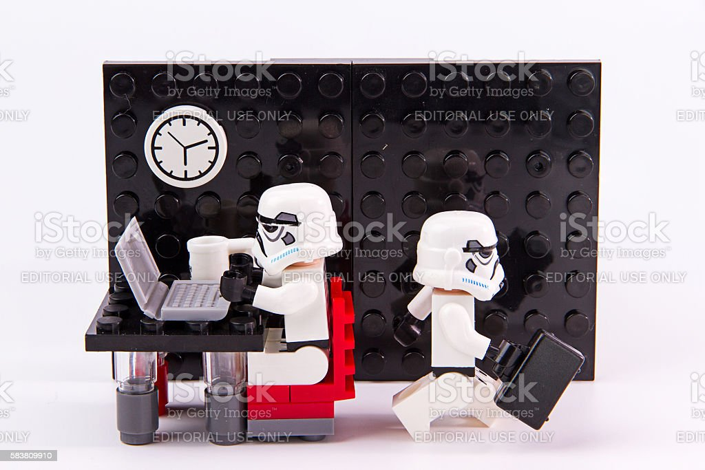Lego star wars working time. – Foto