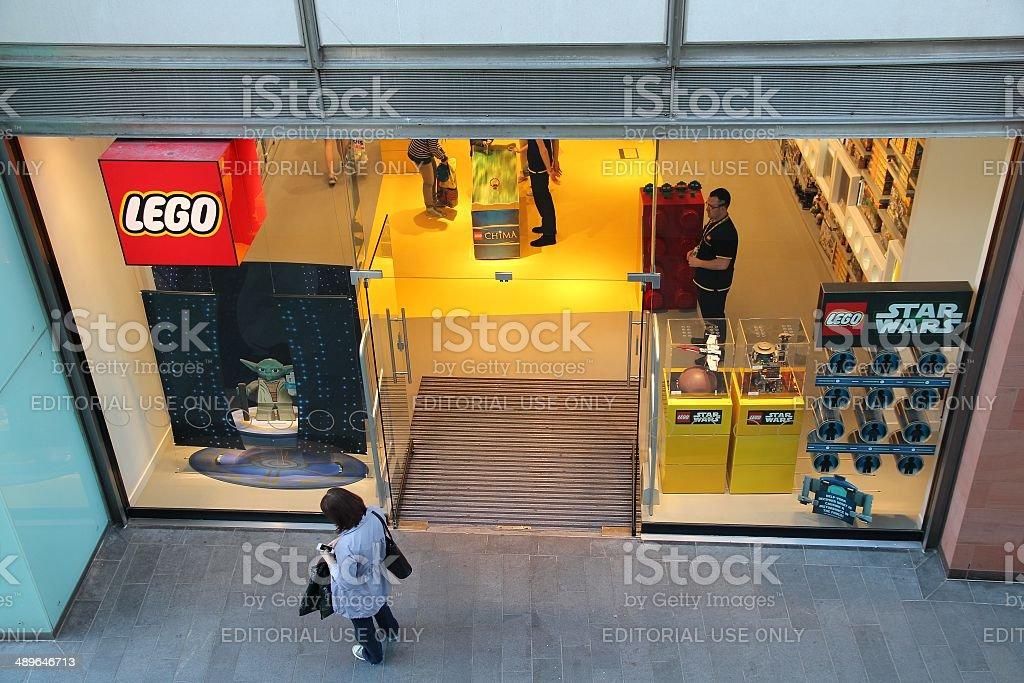 Lego store royalty-free stock photo