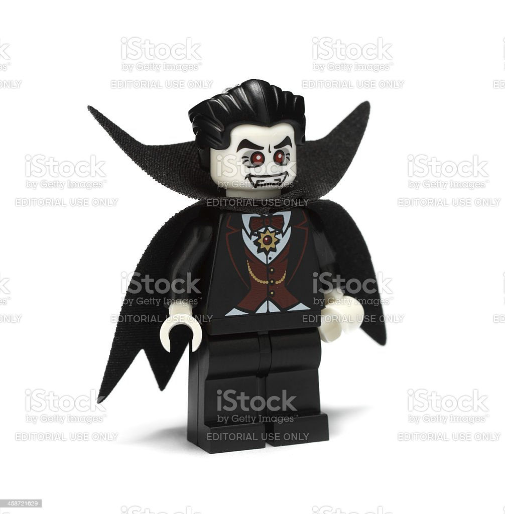Lego vampire figure royalty-free stock photo
