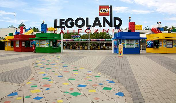 Legoland California stock photo