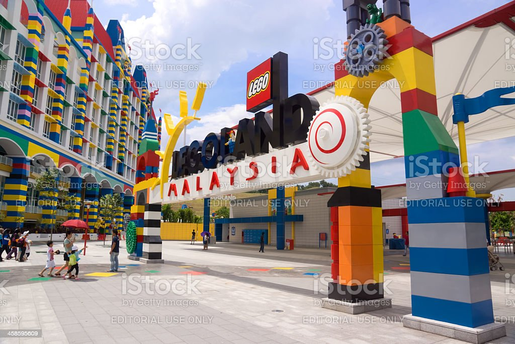 Legoland Malaysia stock photo