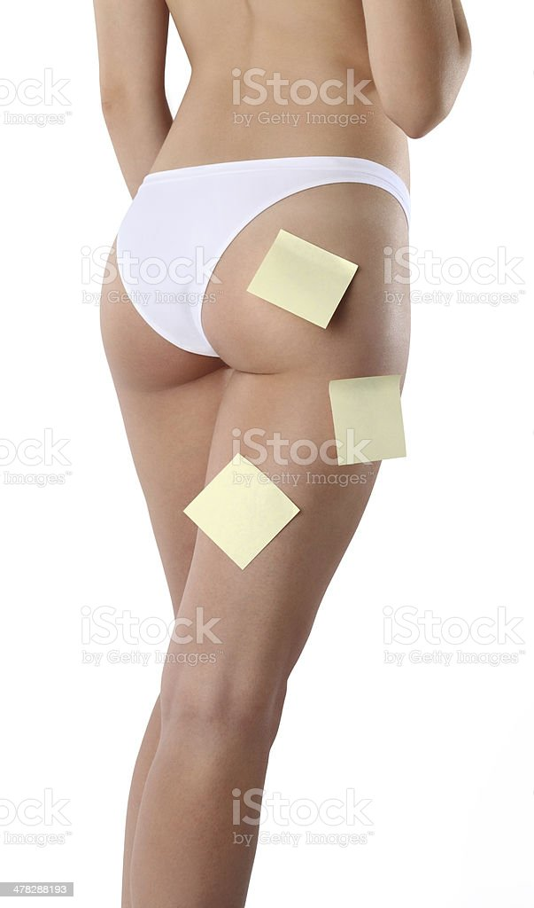 legs and ass of beautiful woman royalty-free stock photo