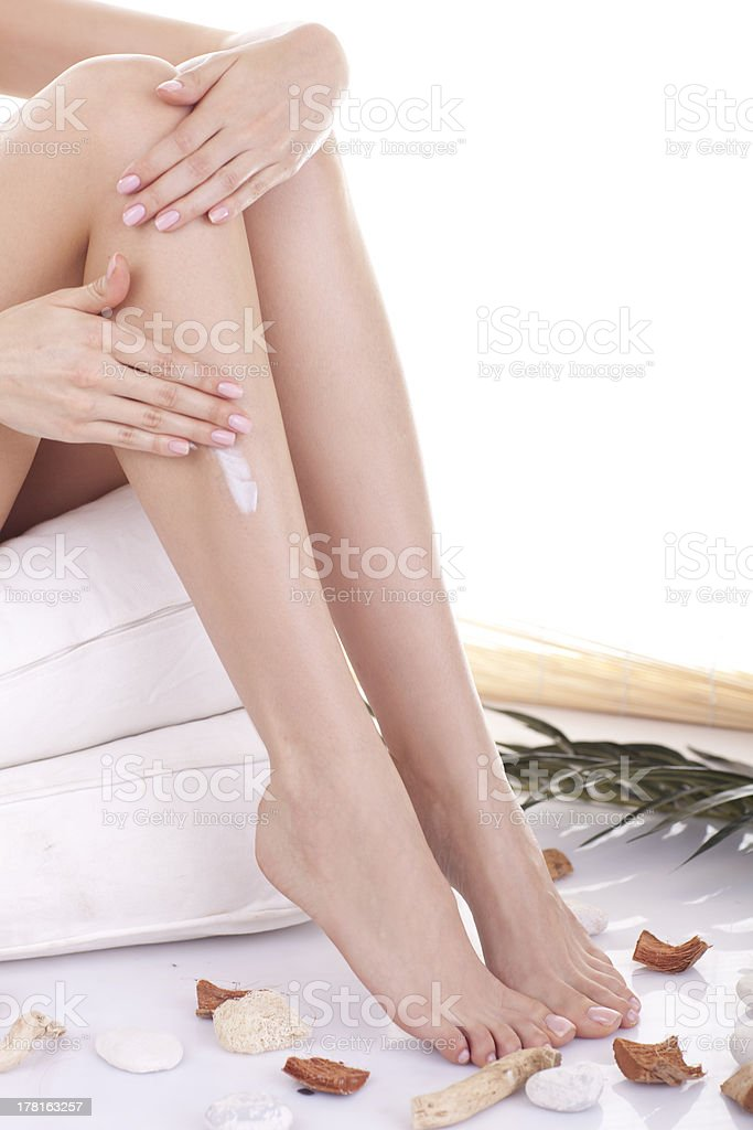 Legs and feet. royalty-free stock photo
